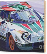 Lancia Stratos Alitalia Rally Catalonya Costa Brava 2008 Wood Print by Yuriy  Shevchuk