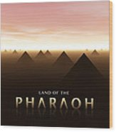 Land Of The Pharaoh Wood Print