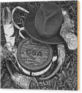 Landry's Props Wood Print