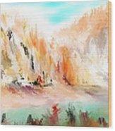 Landscape 111511 Wood Print