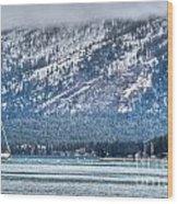 Landscape Lake Tahoe Wood Print
