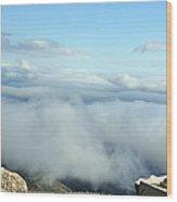 Landscape View Mt. Washington New Hampshire 23 Wood Print