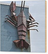 Langusta Lobster Wood Print