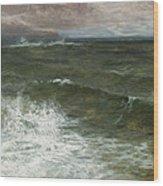 Lannacombe Bay Wood Print