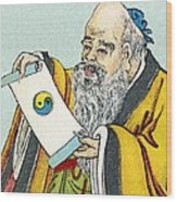 Lao Tse, Chinese Philosopher Wood Print