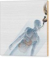 Laparoscopic Appendicectomy, Artwork Wood Print