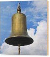 Large Bell Wood Print