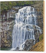 Large Waterfall Wood Print