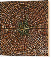 Largest Round Barn Ceiling Wood Print