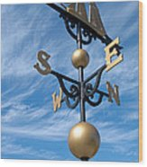 Largest Weathervane Wood Print