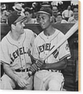 Larry Doby (1923-2003) Wood Print