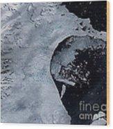Larsen B Ice Shelf Breaking Away 2 Of 5 Wood Print
