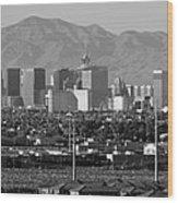 Las Vegas Suburbs Wood Print