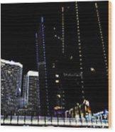 Las Vegas Walkway Wood Print