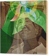 Laskey Portrait 1972 B Wood Print