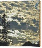 Last Light On Hallow's Eve 2012 Wood Print