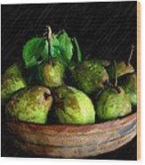 Last Of The Pears Wood Print