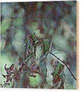 Late September Leaves Wood Print