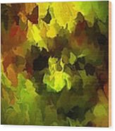 Late Summer Nature Abstract Wood Print