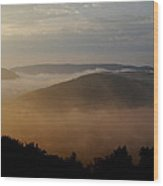 Laurel Highlands Usa  Wood Print