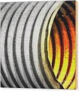 Lava Tube Wood Print
