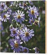 Lavender Ladies Wood Print