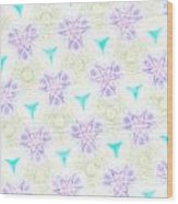 Lavender Passion Wood Print