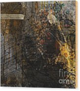 Layered Realities Abstract Composition Painting Print Wood Print