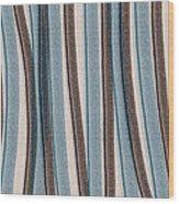 Lazy Stripes Wood Print by Bonnie Bruno