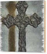 Lead Me To The Cross 1 Wood Print