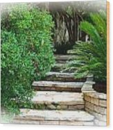 Lead Me To Your Garden Wood Print