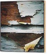 Lead Paint Wood Print