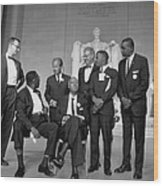 Leaders Of The 1963 March On Washington Wood Print by Everett