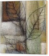 Leaf Whisper 2 Wood Print