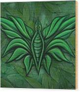 Leafy Bug Wood Print