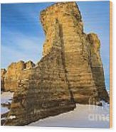 Learn Tower Of Monument Rocks Wood Print