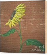 Leavenworth Sunflower  Wood Print