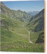 Lechtaler Alpen Madautal Wood Print