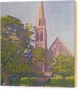 Leckie Memorial  Church  Peebles Scotland Wood Print