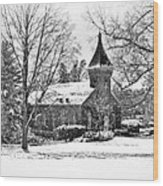 Lee Chapel February 2012 Series II Wood Print