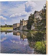 Leeds Castle Kent England Wood Print