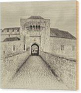 Leeds Castle Nostalgic 3 Wood Print