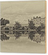 Leeds Castle Nostalgic Wood Print