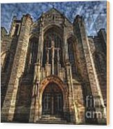 Leeds Cathedral Wood Print