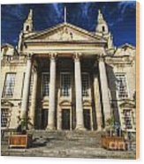 Leeds Civic Hall Wood Print