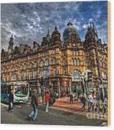 Leeds Kirkgate Market Wood Print