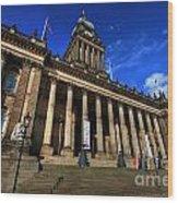 Leeds Town Hall Wood Print