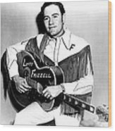 Lefty Frizzell, 1950s Wood Print by Everett