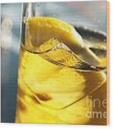 Lemon Drink Wood Print by Carlos Caetano