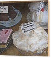 Lemon Pie And Pastries Wood Print